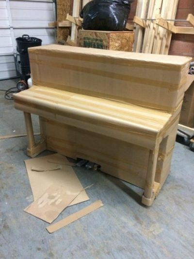 Maple Ridge Dump >> Piano Crating | Custom Packaging for Shipping Pianos Overseas | MVM
