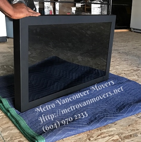 How to pack your flat screen tv or electronics