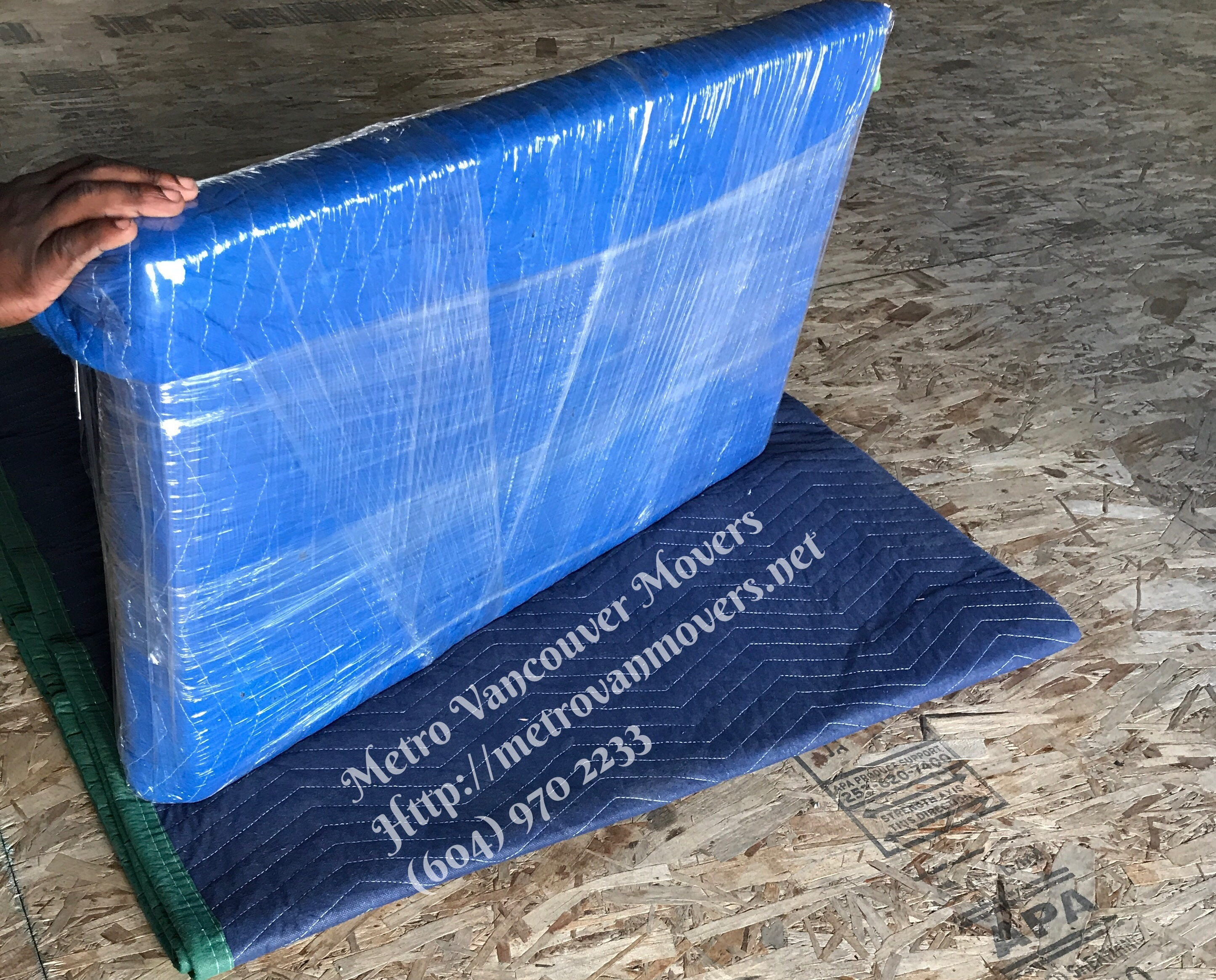 how to shrink wrap to pack a tv