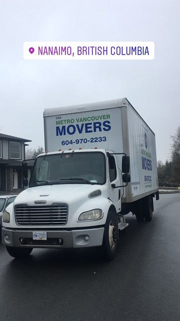 nanaimo movers, nanaimo moving company